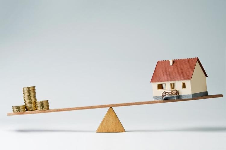 Limite del credito per pignoramento immobiliare.